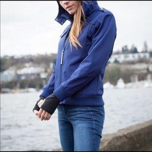NWT BAUBAX Blue Women's Bomber Jacket   XXL